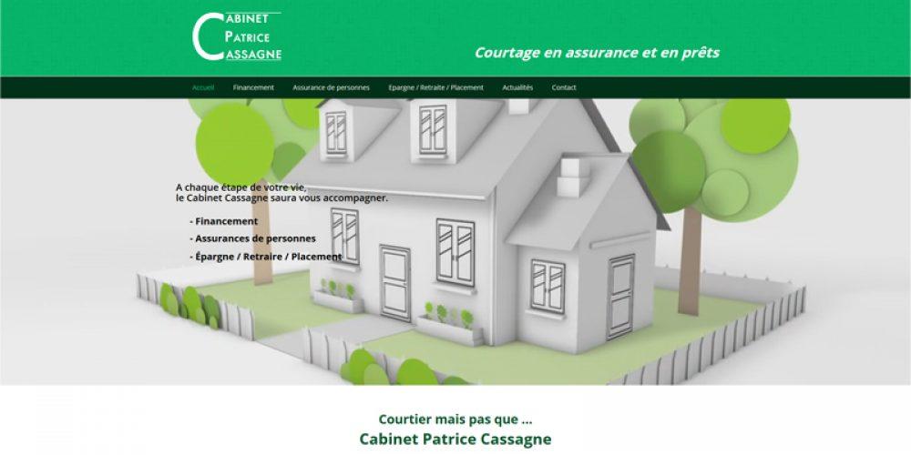 Nouveau site Patrice Cassagne